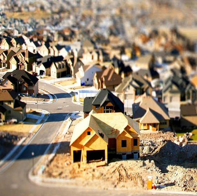 Tilt and shift town