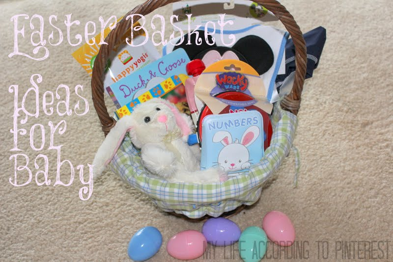 My life according to pinterest easter basket ideas for your baby easter basket ideas for your baby negle Choice Image