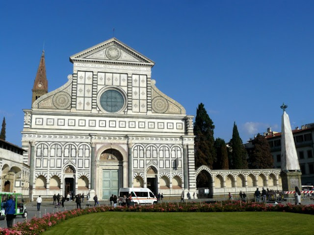 Basilica Di Santa María Di Novella Florencia