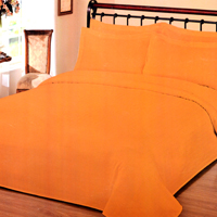 Sprei Polos Orange