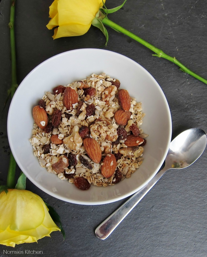 Maple Almond Granola Recipe from Nomsies KItchen