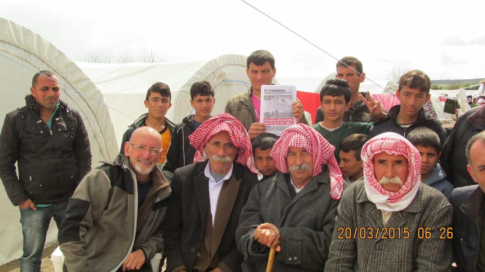 Revolución de Medio Oriente y Kurdistán, libro de JC. Beica