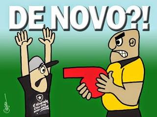 Botafogo é roubado em sua 2ª partida no campeonato dos ladrões e corruptos