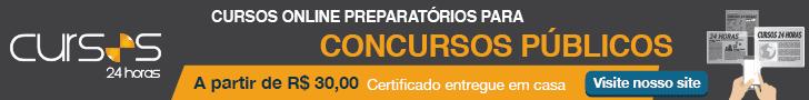 Cursos Online preparatório para Concursos Públicos