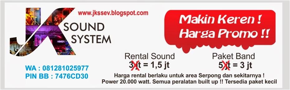 Sound System Keren dan Murah