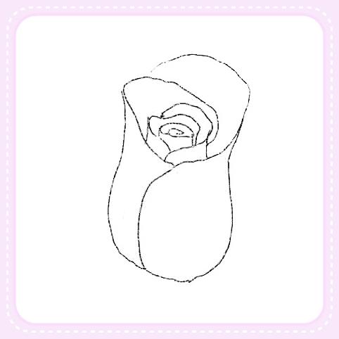 Como dibujar una rosa para manualidades - Como secar una rosa ...