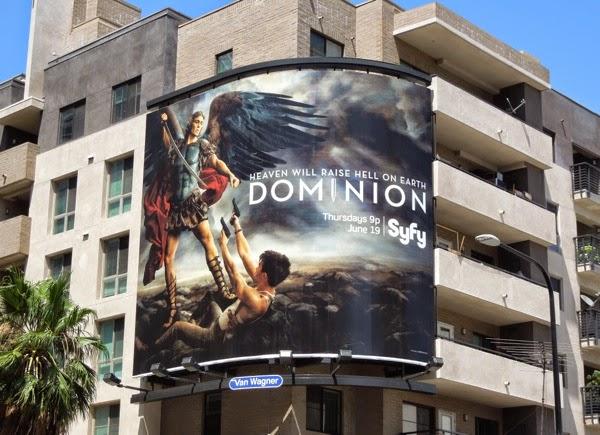 Dominion series premiere billboard