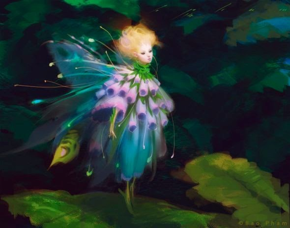 Bao Pham thienbao deviantart pinturas digitais fantasia surreal mulheres