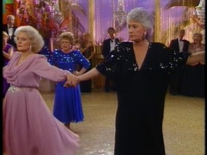 Secondhand star blue sequin bombshell for Why did bea arthur leave golden girls