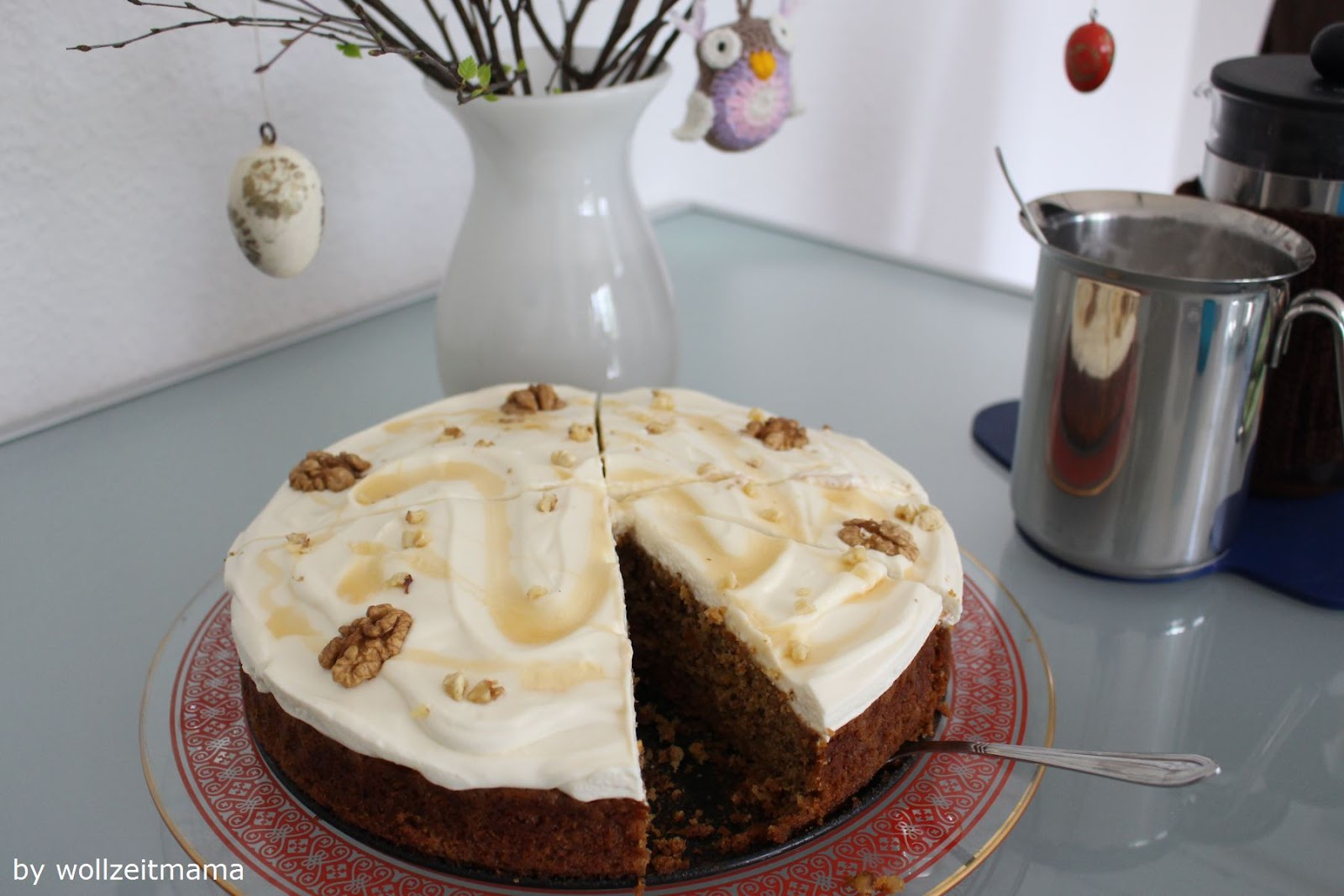 Möhrenkuchen made by wollzeitmama