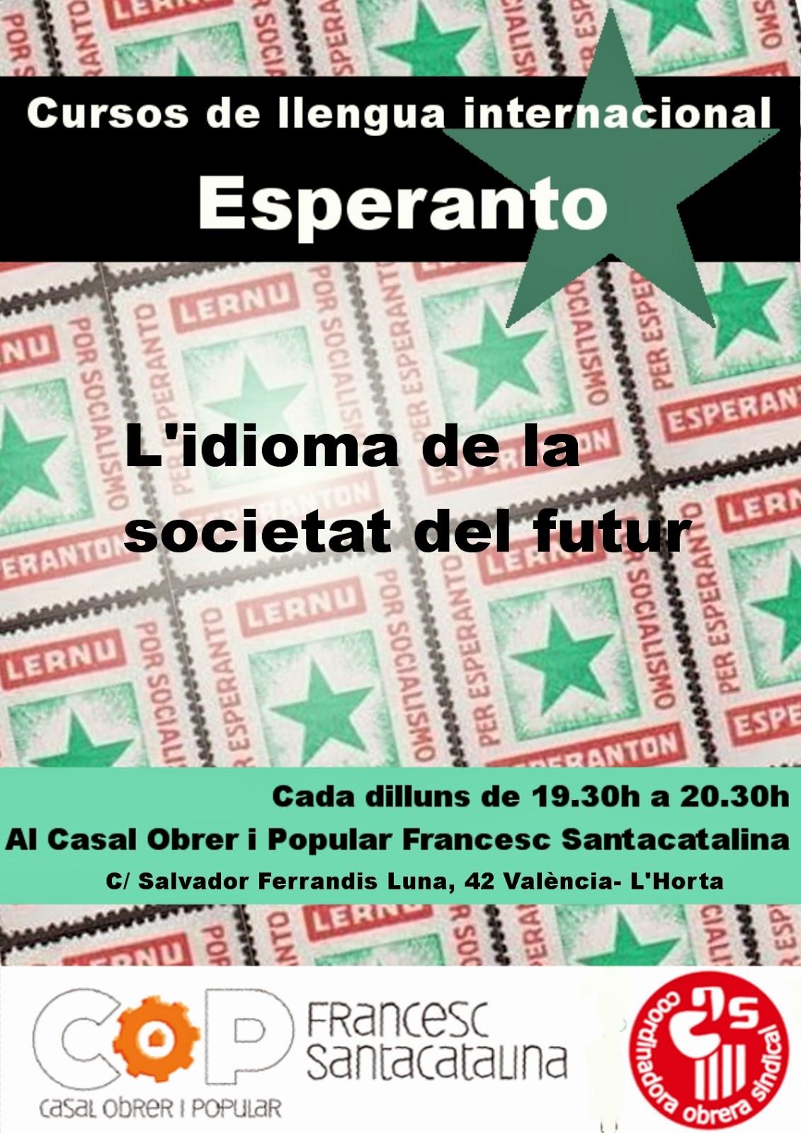 Curs de llengua internacional Esperanto