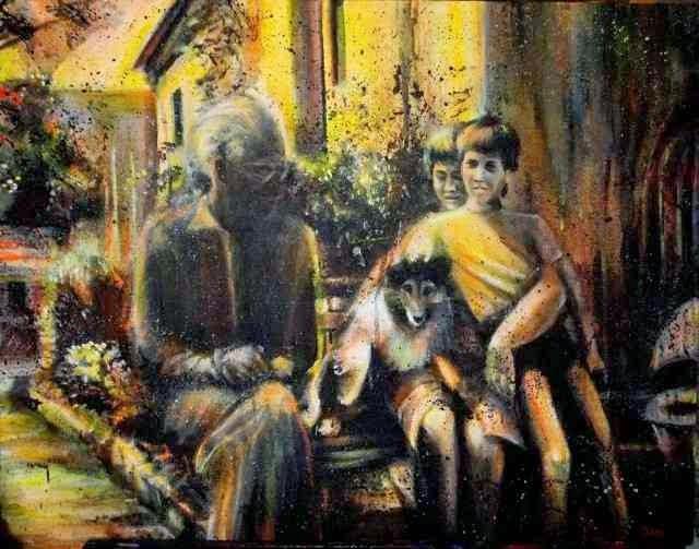 Чешская художница. Jitka Nesnidalova