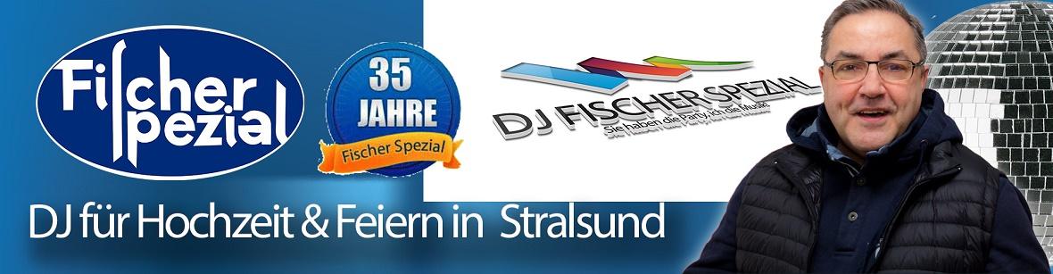 DJ Fischer Spezial - DJ Stralsund, Hochzeits-DJ Karl-Heinz Fischer für Hochzeitsparty in Stralsund