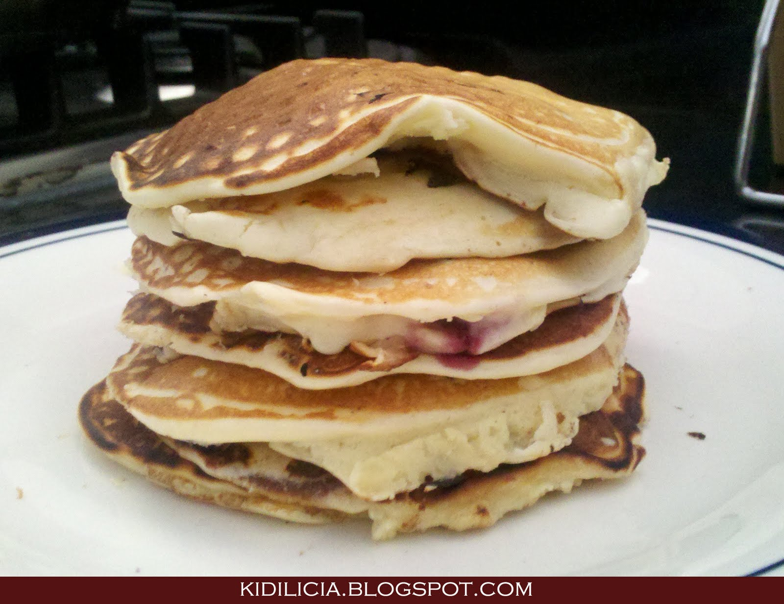 ... : Cream Cheese Lemon Pancakes (Panquecas de cream cheese e limão