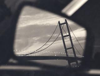 Trevor David Betts Photography Blog: BRIDGE IN CAR MIRROR
