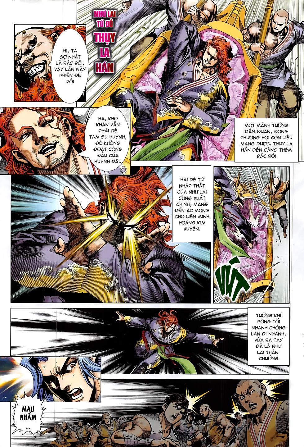 Thần Chưởng trang 19