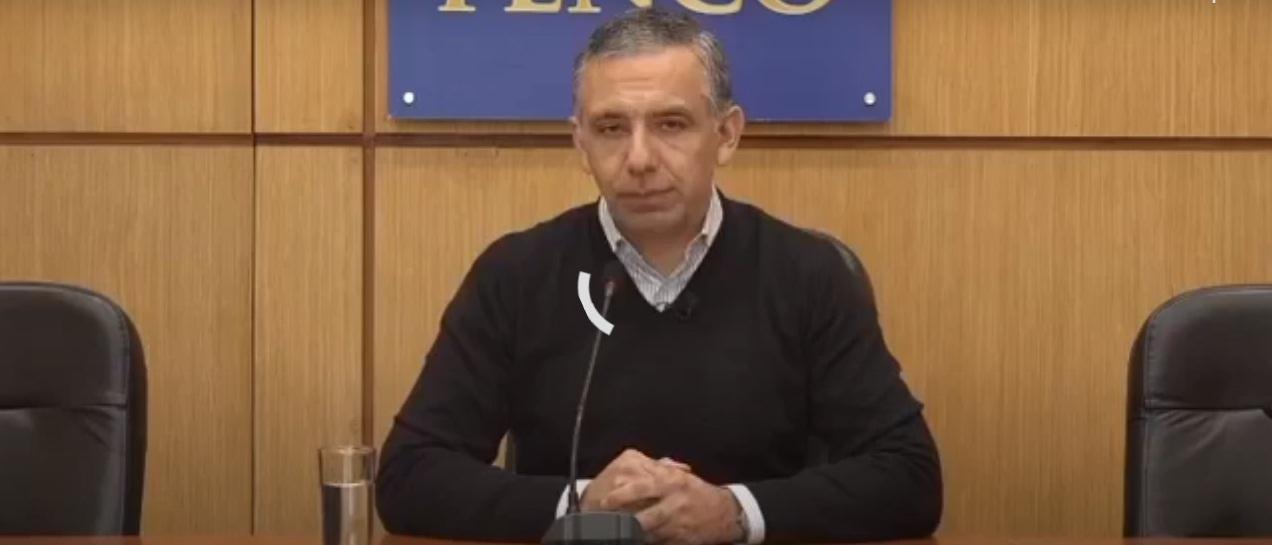 """Victor H. Figueroa, alcalde de Penco: """"La mayoria de los contagios son por encuentros familiares"""""""