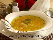 Zeleninová polievka a la Milan - recept
