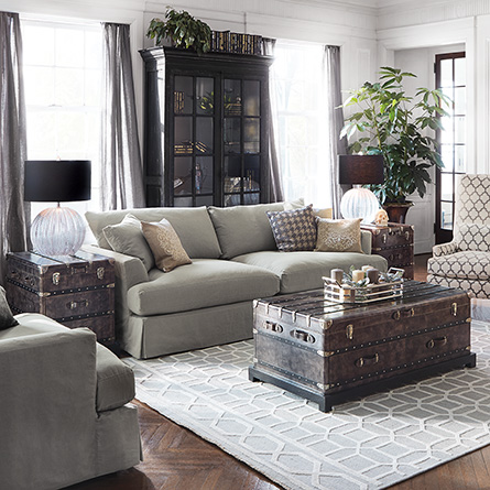 Link: Emory Slipcovered Sofa