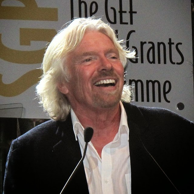 Ten facts about Richard Branson