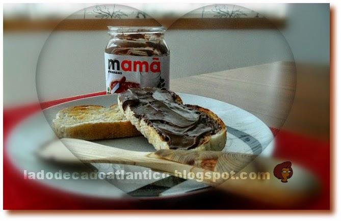 Imagem de pote de Nutella com rótulo promocional personalizado