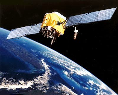 Tierra, espacio, satélite