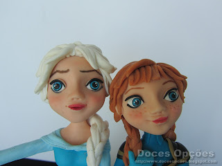 Elsa and Anna Frozen