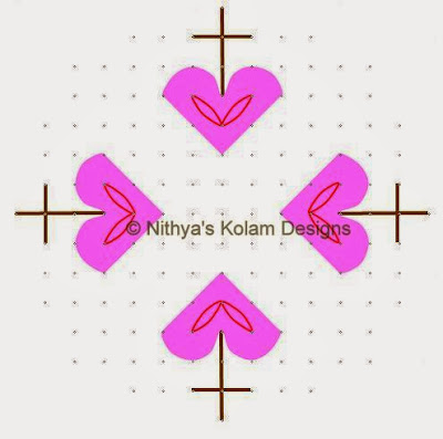 1 Christmas Kolam