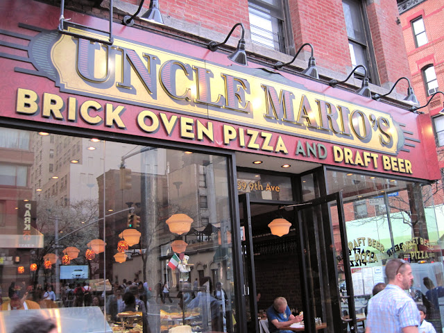 Grab a slice and a pint with Uncle Mario as you do some Dining in New York
