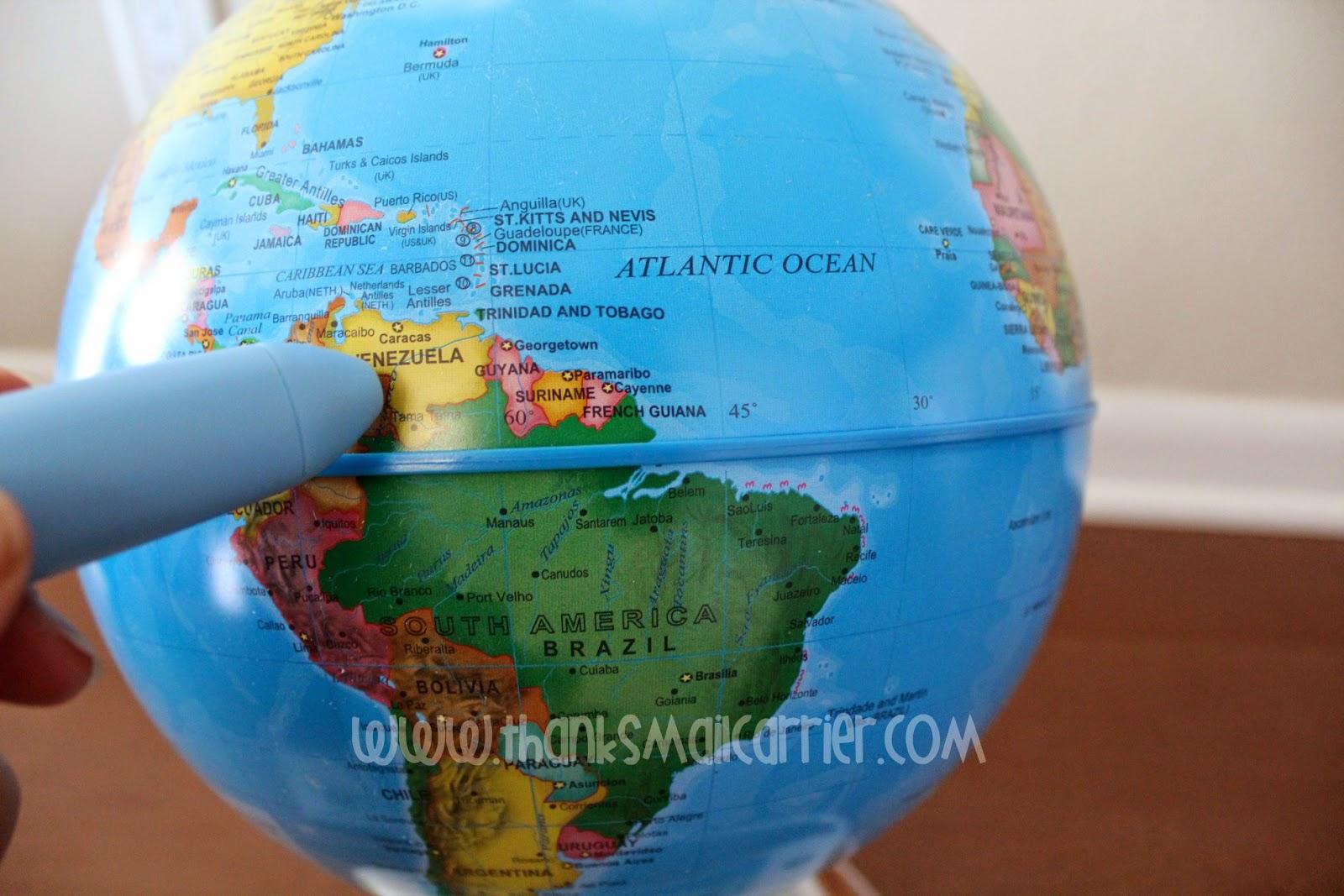 child's smart globe