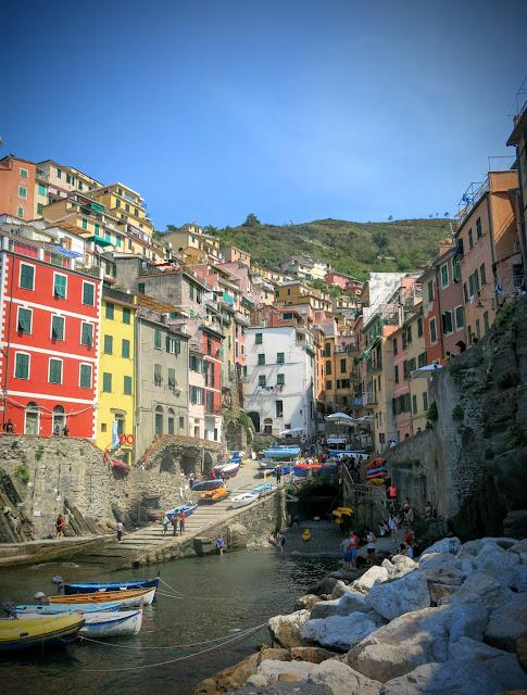 Cinque Terre - Riomaggiore och Manarola