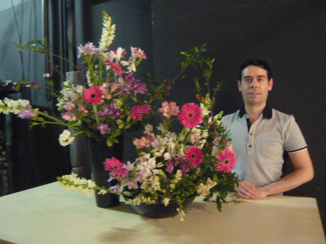 TV  Gazeta , Ikebana de Primavera com Prof Marcio Soares.