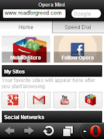 Opera Mini 7 Final Released for J2ME (Java phones), BlackBerry and Symbian S60v3 v5 S3 download links jar zip sis