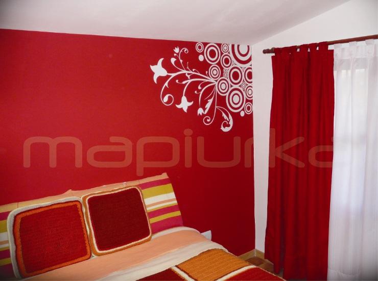 Mapiurka adhesivos decorativos ba deco con arabescos - Vinilos de arboles para paredes ...