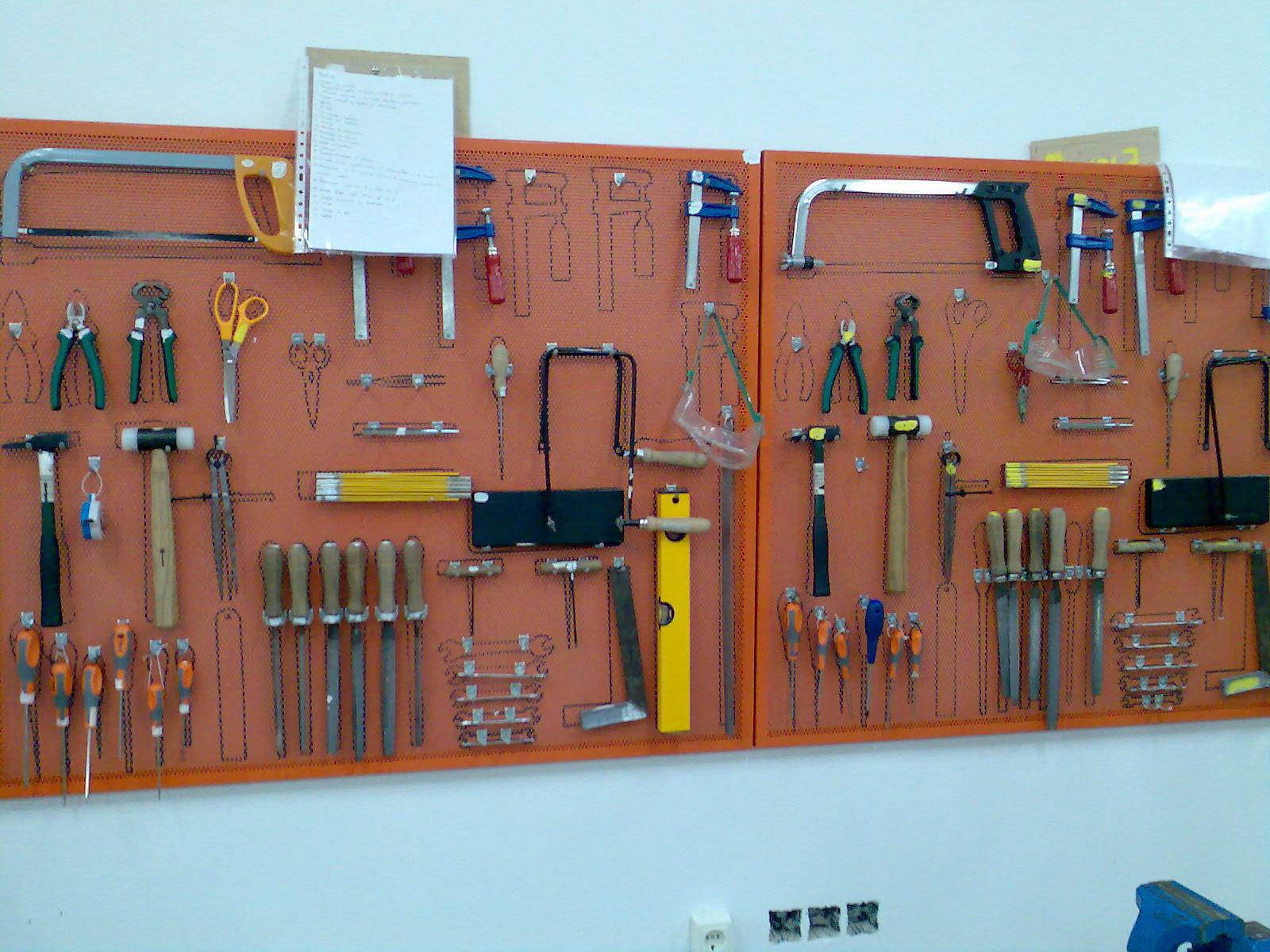 Instalaciones y tecnolog a en educaci n las herramientas for Cajon herramientas taller