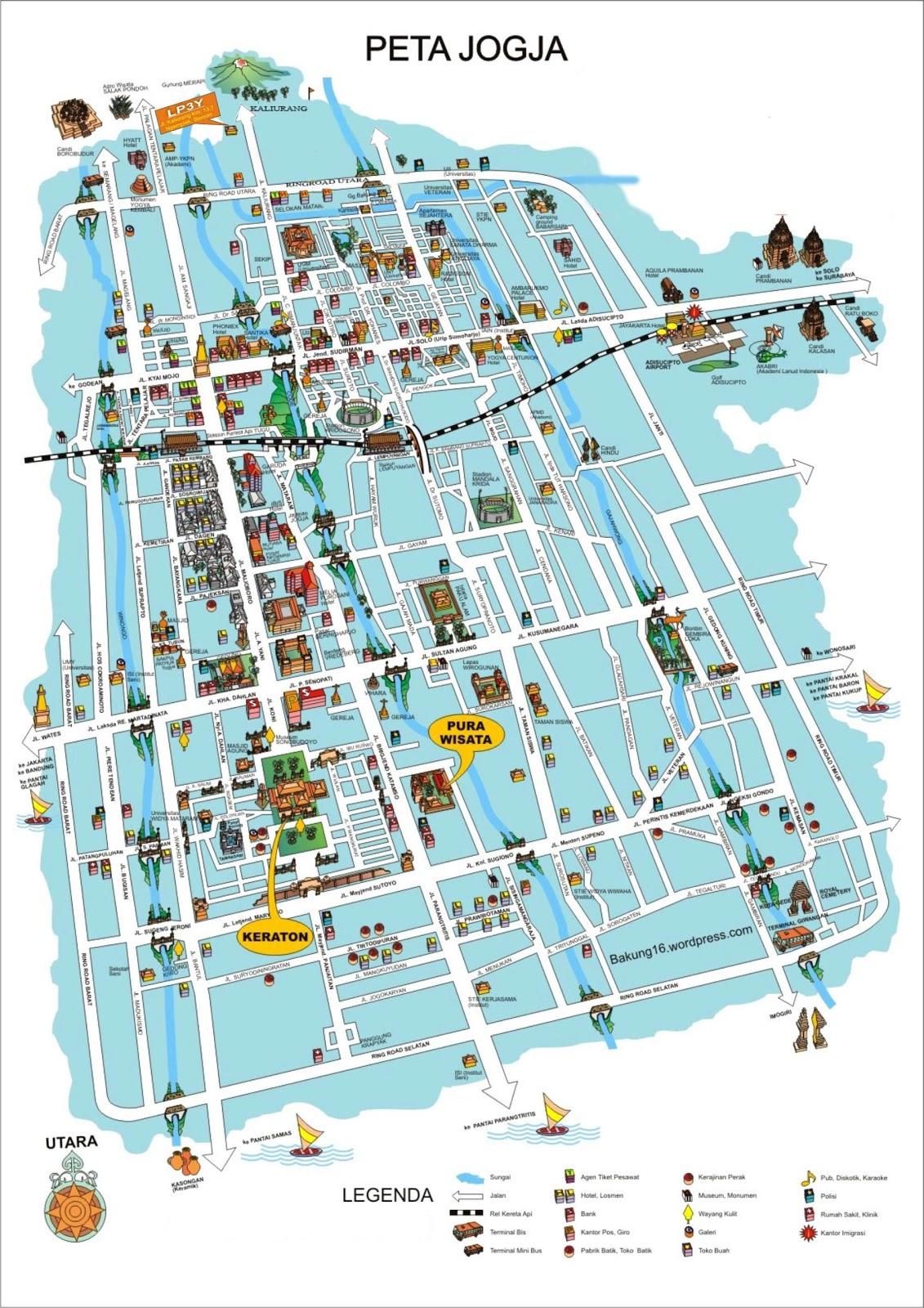 Peta Yogyakarta Google Map