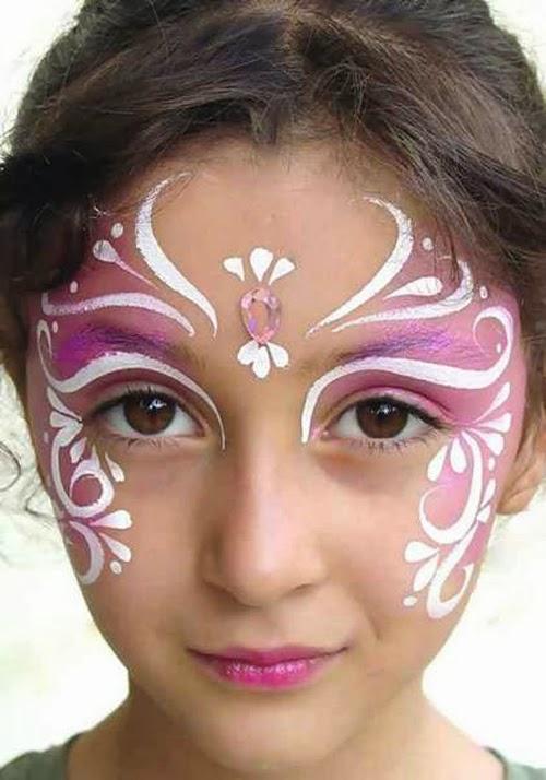 ألبومات صور منوعة البوم صور لاجمل رسم على وجه الاطفال بالالوان الجميلة للحفلات