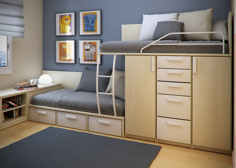 Space Saving Ideas For Small Childrens Bedrooms