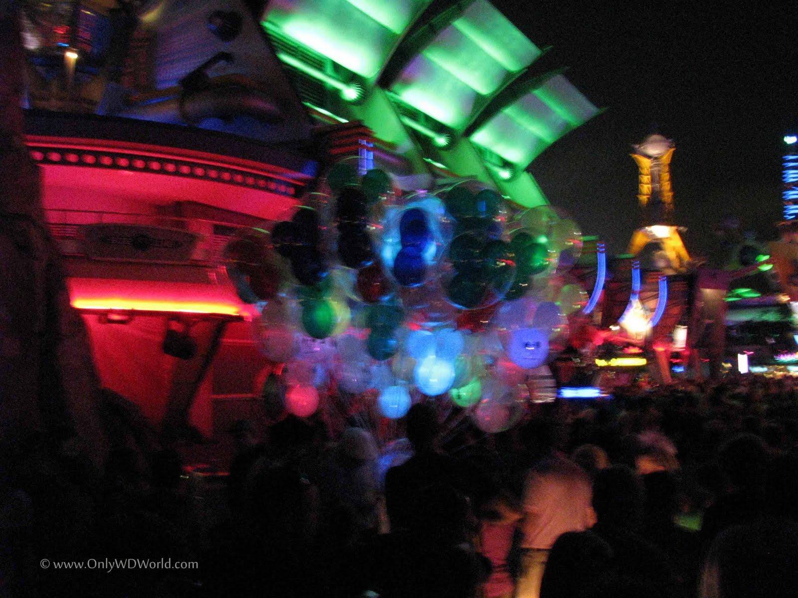 Magic Kingdom At Night Tomorrowland Disney World Blog