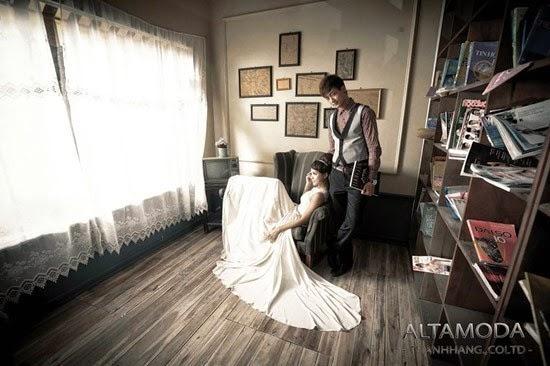 Địa điểm chụp ảnh cưới trong nhà tại Hà Nội đẹp đang HOT6