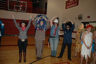 Halloween Village People