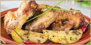 Resep Ayam Panggang Kentang