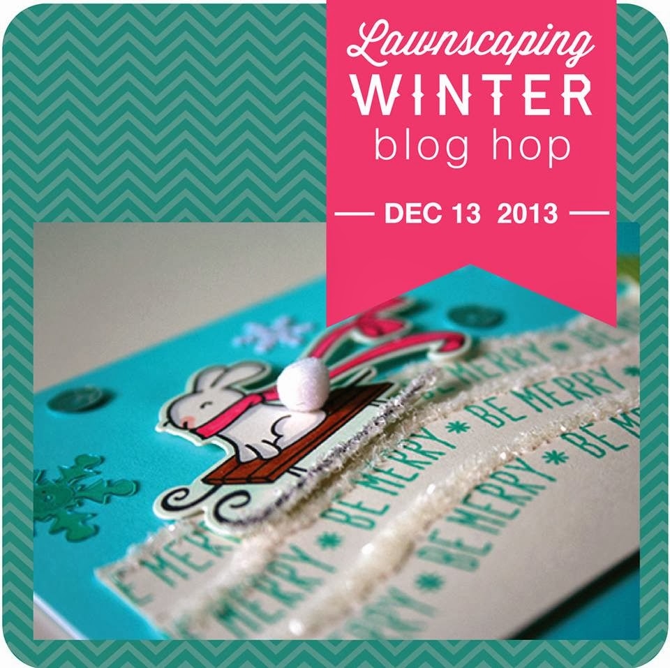 get ready for a winter lawnscaping blog hop!!