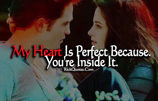 Love Quotes | Kristen Stewart and Robert Pattinson Love Couple