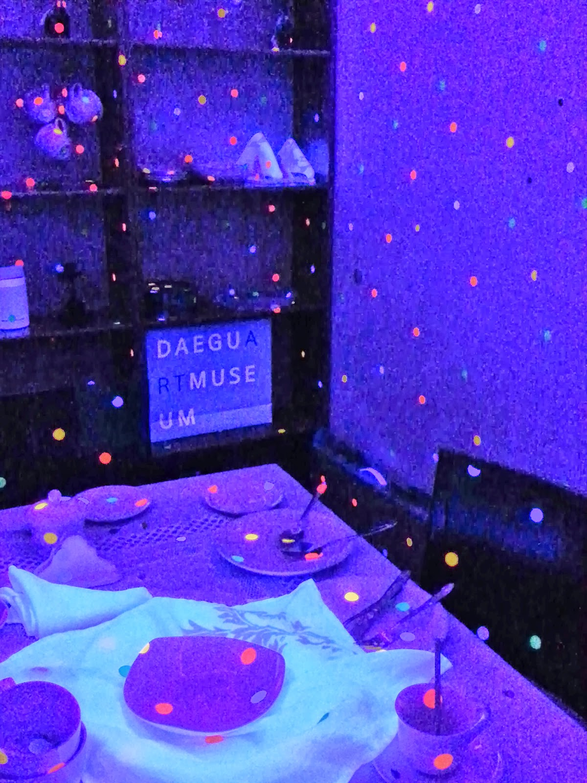 Black Light Bedroom World Allowing Visitors To