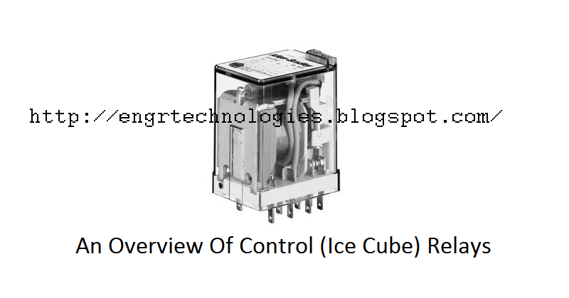 Overview Of Control  Ice Cube  Relays