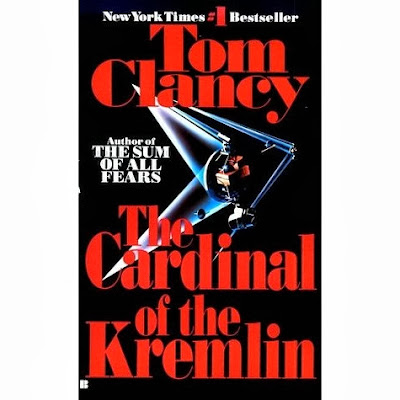 The Cardinal of the Kremlin (published in 1988) - A spy novel authored by Tom Clancy