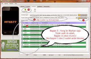 Cara Flash Wiko Birdy 4G Via Sp Flash Tools