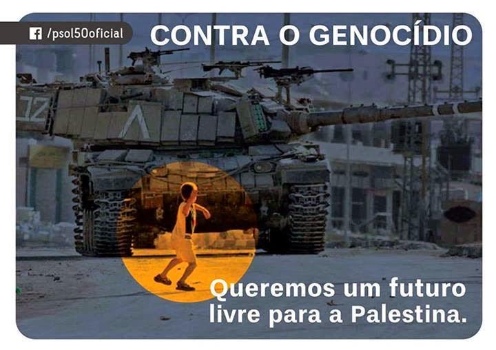 Um futuro para a Palestina e o presente.