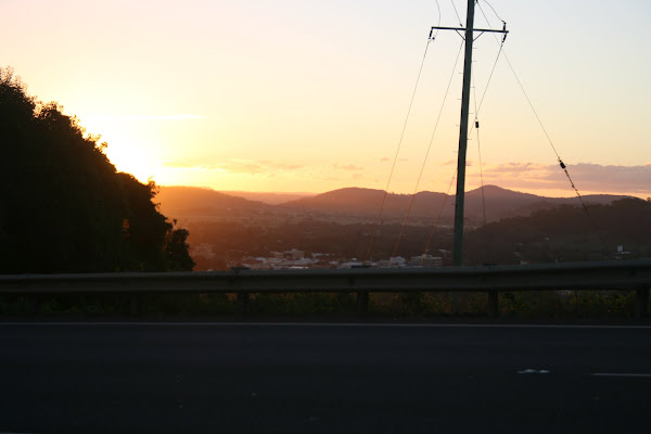 Sunset, Lismore Heights
